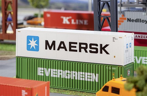 40' Hi-Cube Refrigerator Container MAERSK