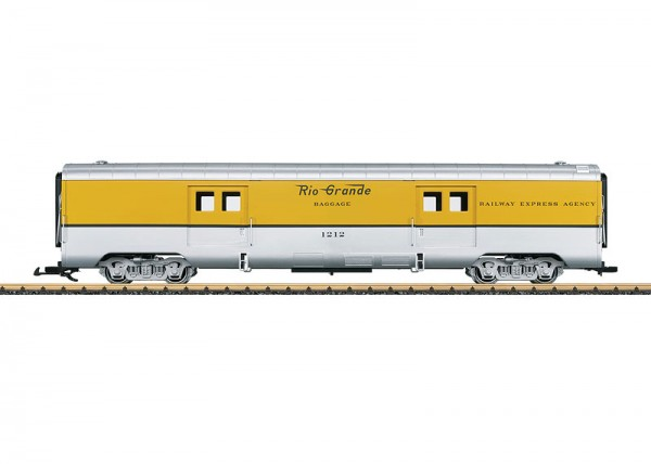 Denver & Rio Grande Baggage Car